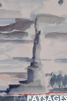 Paysages aquarelles