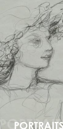Portraits mine de plomb